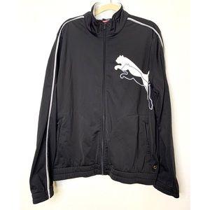 Puma Large Black & White Track Jacket